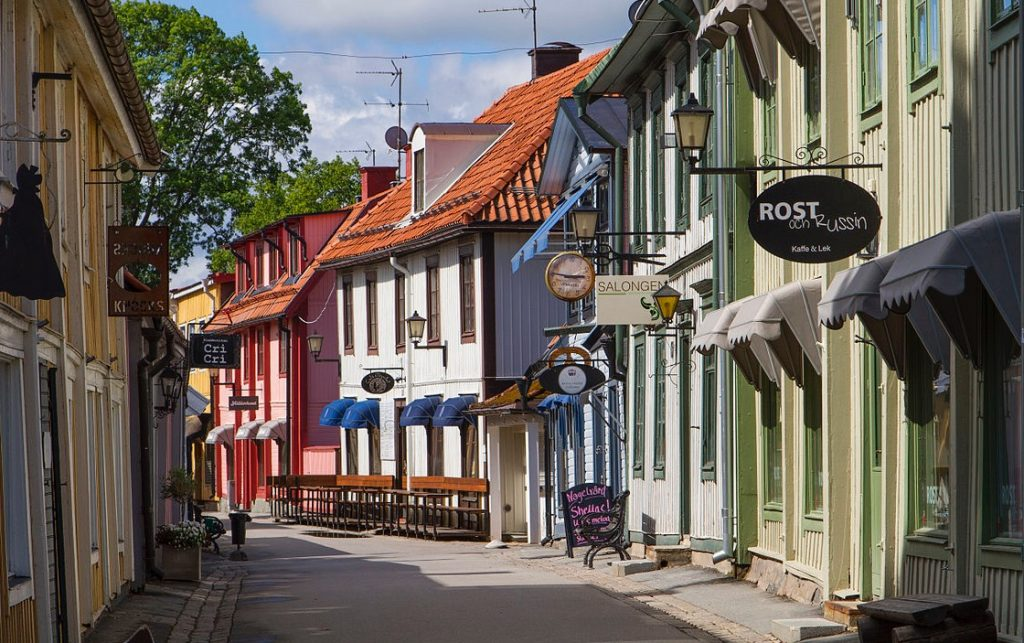 Sigtuna old town